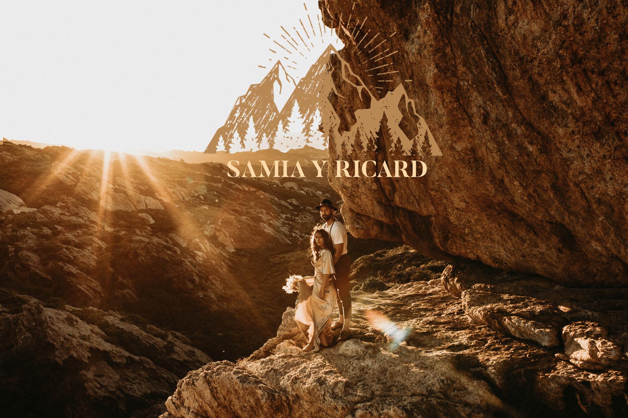 Samia & Ricard - atardecer en cap de Creus